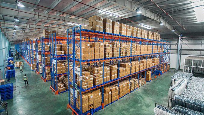 sắp xếp hàng hóa khoa học giúp tiện lợi cho việc kiểm soát hàng tồn kho