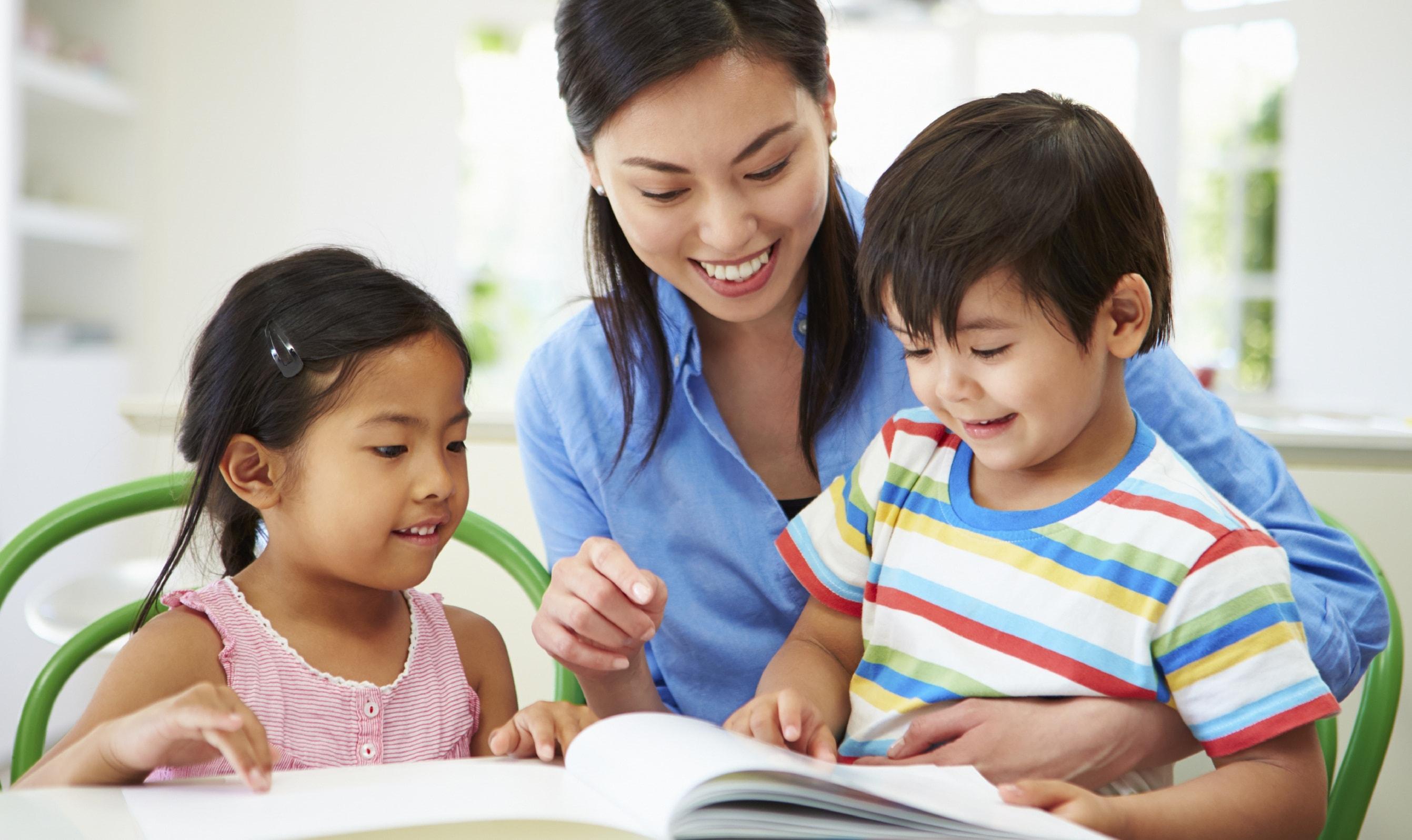 Dạy từ vựng tiếng Anh cho bé hiệu quả