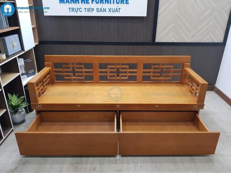 Ghế sofa giường gỗ chất lượng