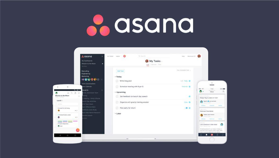 Asana- công cụ quản lý dự án tối ưu